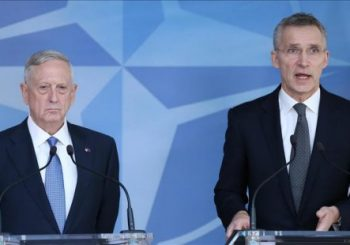 US defense chief, NATO head on surprise Afghan visit