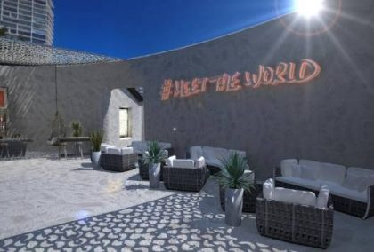 The world's first sand hostel