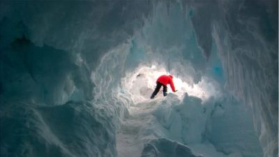 Unknown species may thrive in Antarctic caves