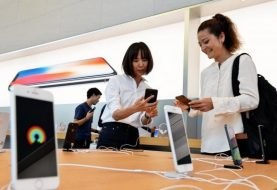 Long-awaited iPhone 8, Plus models hit stores worldwide