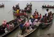 Children die as Rohingya boat capsizes