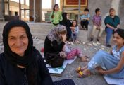 Displaced Kurd, 67: Never seen happiness in my life