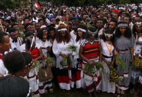 Ethiopian festival turns into anti-government protest
