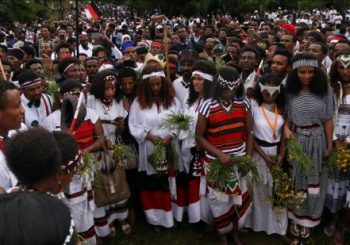 Ethiopian festival turns into anti-government protest
