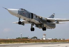 Russian aircraft crashes in Syria, crew killed