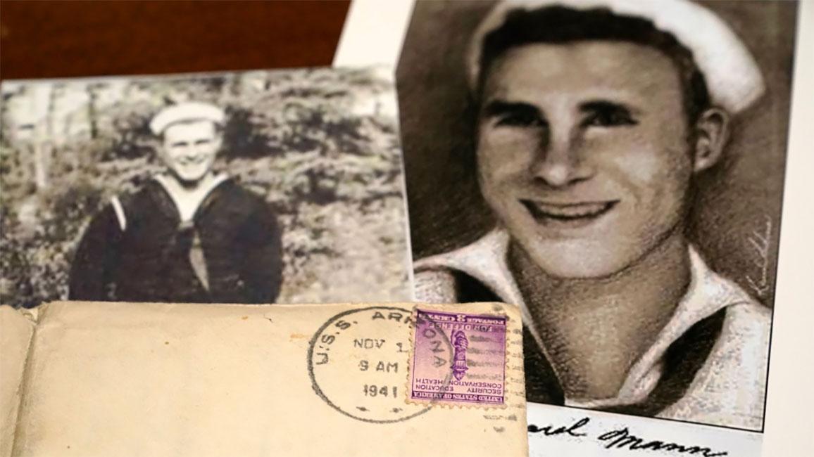 Photos of sailor William Edward Mann