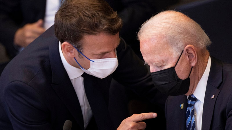 France's Macron to talk to Biden amid crisis over submarines